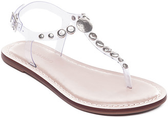 Bernardo Mojo2 Flat Studded Jelly Sandals
