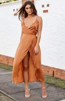 BB Exclusive Rydges Wrap Dress Rust