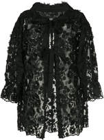 Moschino embroidered ribbon tie jacket