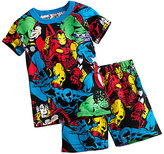 Disney Marvel Comics PJ PALS Short Set for Boys