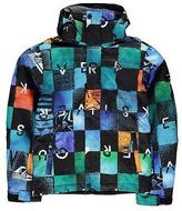 Quiksilver Mission Print Jacket Junior Boys Warm Sports Skiing Snowboarding