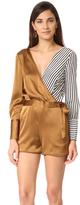 Diane von Furstenberg Asymmetrical Romper