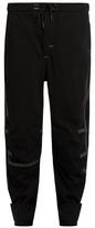 Y-3 Sport Seamless wool-blend performance track pants
