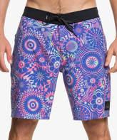 Quiksilver Men's Board Shorts DAZZLING - Dazzling Blue High Board Shorts - Men & Big