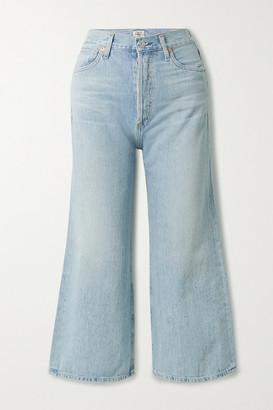 Citizens of Humanity Sacha Organic High-rise Wide-leg Jeans - Light denim