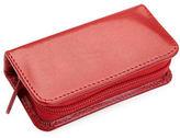 Royce Zipped Leather Mini Manicure Kit
