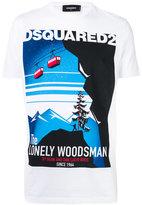 DSQUARED2 Lonely woodsman t-shirt - men - Cotton - M