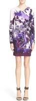 Roberto Cavalli Women's Floral Print Jersey Dress