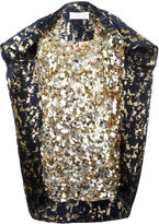 Gianluca Capannolo sequin embellished dress