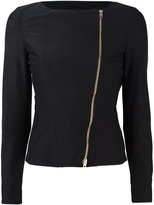 Herno zip up jacket - women - Cotton/Polyamide/Spandex/Elastane/Acetate - 36