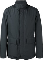 HUGO BOSS high neck rain jacket - men - Polyamide/Polyester - 48