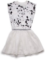 Nununu Toddler Girl's Splash Tulle Dress