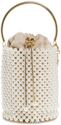 Rosantica FEBE EMBELLISHED BUCKET BAG