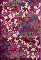 Asstd National Brand Loft Blossoms Rectangle Rug