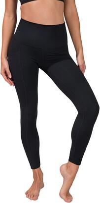 90 Degree By Reflex Superflex High Rise Elastic Free Pocket Ankle Leggings