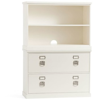 """Pottery Barn Bedford 41"""" x 58.5"""" Lateral File Cabinet Bookcase"""