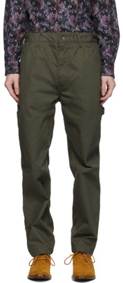 Engineered Garments Khaki Painter Trousers