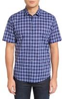 Zachary Prell Men's Medina Plaid Sport Shirt