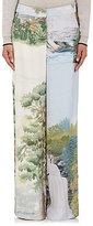 Stella McCartney Women's Landscape Wide-Leg Trousers-CREAM