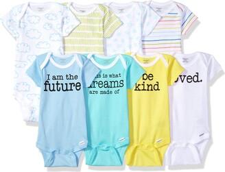Onesies Brand Baby 8-Pack Short-Sleeve Bodysuit