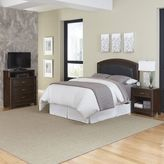 Home Styles Crescent Hill 3-piece Brown Bedroom Set