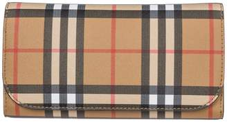 Burberry Tri-fold Vintage Check Wallet