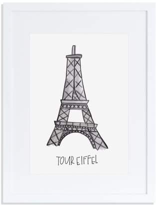 Annie Montgomery Design Tour Eiffel Print