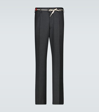 Marni Wool pinstriped pants