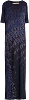 Raquel Allegra Tie-dye cotton-blend jersey dress