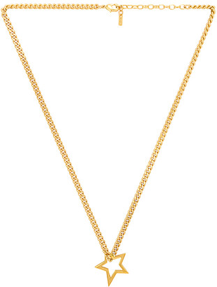 joolz by Martha Calvo Shooting Star Curb Necklace