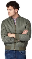 Red Herring Big And Tall Khaki Bomber Jacket