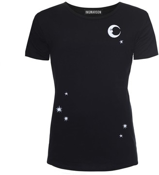Ingmarson Midnight Sky Embroidered T-Shirt Women