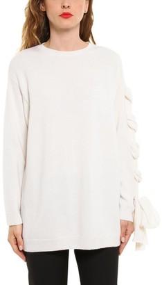Valentino Knot Sleeve Sweater