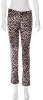 Rag & Bone Leopard-Printed Boyfriend Jeans w/ Tags