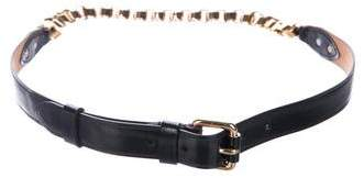 Louis Vuitton Leather Chain Belt