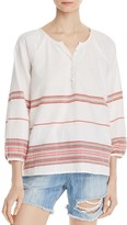 Soft Joie Yarissa Striped Peasant Top