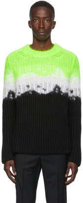 Valentino Multicolor Brushed VLTN Sweater