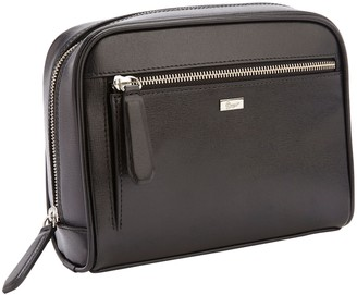 Royce Leather Royce New York Saffiano Leather Toiletry Bag