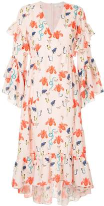 Borgo de Nor iris printed summer dress