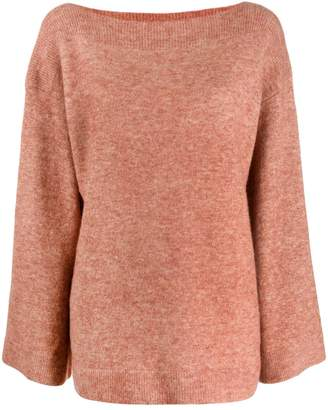 3.1 Phillip Lim Boat Neck Knitted Sweater