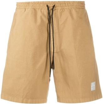 De Beers Contrasting Drawstring Waist Deck Shorts