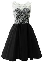 Onlinedress Women's Lace Sexy Bridesmaid Dress Prom Gown Size 12