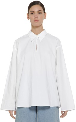 MM6 MAISON MARGIELA Oversize Cotton Poplin Shirt