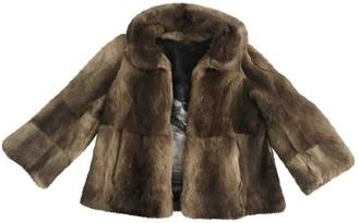 Anya Hindmarch Beige Rabbit Jackets