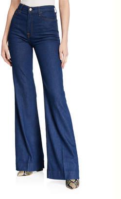 7 For All Mankind Modern Dojo High-Rise Wide-Leg Jeans