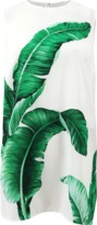 Dolce & Gabbana Leaf Print Split Side Tunic