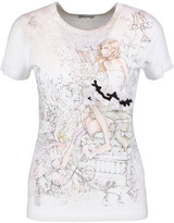 RED Valentino Printed cotton and modal-blend jersey T-shirt