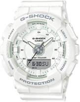 G-Shock Women's Analog-Digital White Strap Watch 50mm