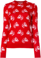 MSGM dog intarsia jumper - women - Acrylic/Wool - XS