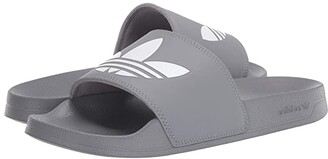 adidas Adilette Lite (Grey Three/Footwear White/Grey Three) Men's Shoes